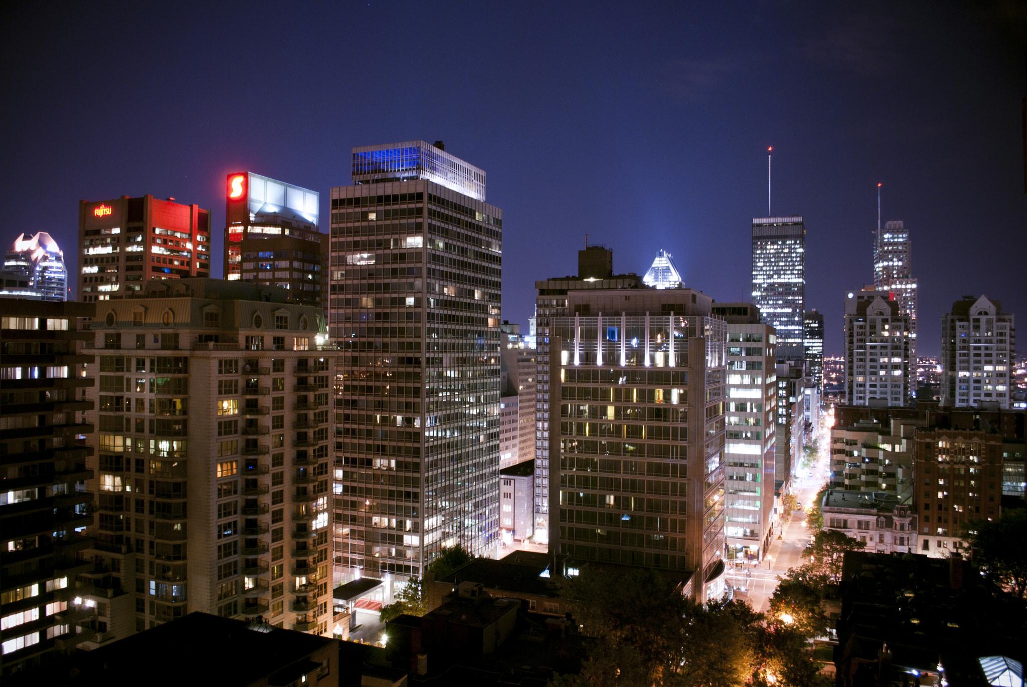 Một góc Montreal, Quebec – thành phố học thuật nổi tiếng của Canada