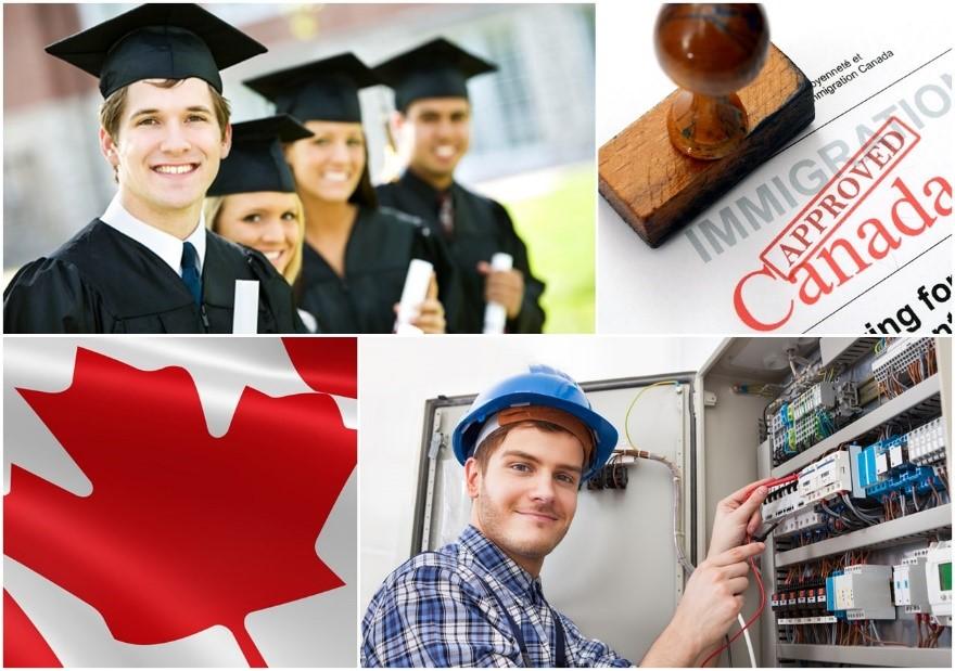 Việc sở hữu bằng cấp, kinh nghiệm tạo lợi thế cho sinh viên khi muốn tìm việc làm và định cư tại Canada
